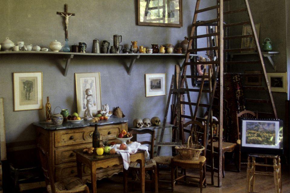 Paul c zanne studio in aix en provence provence alpes for Paul s garden studios