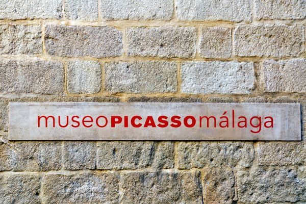The Picasso Museum , The Picasso Museum in Malaga , Spain