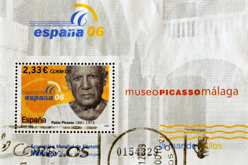 Le musée Picasso , Malaga, ville natale de Picasso , Espagne