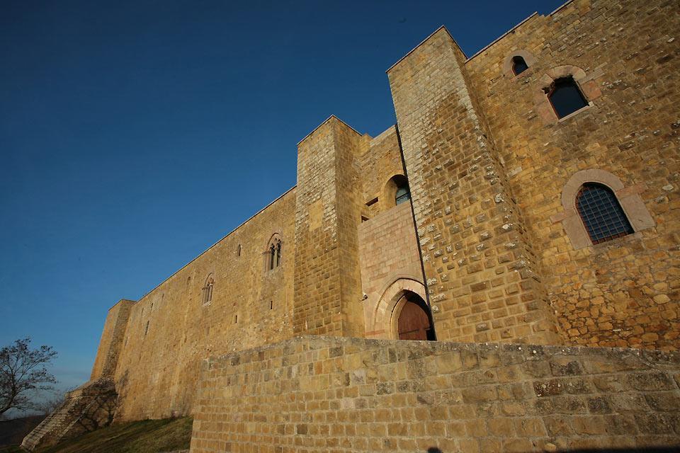 Les châteaux , Le Château de Lagopesole, Basilicate , Italie