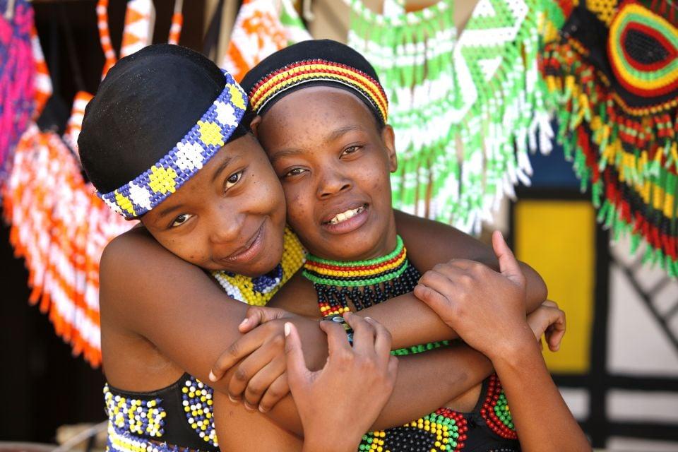 Il popolo Shangaan, I Shangaan, Le arti e la cultura, Sudafrica