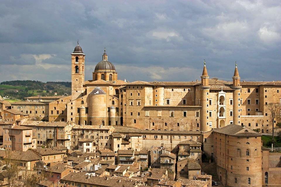 Palacio Ducal , El Palacio ducal, Urbino , Italia