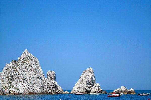 Costa del Conero , La costa del Conero, Las Marcas , Italia