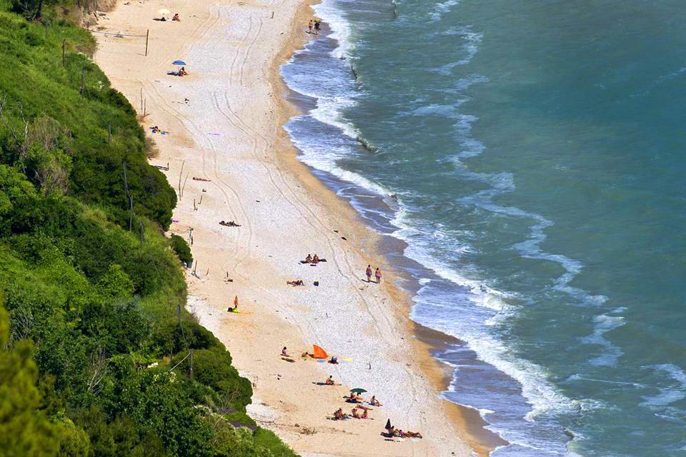 The Coast of Conero , Italy