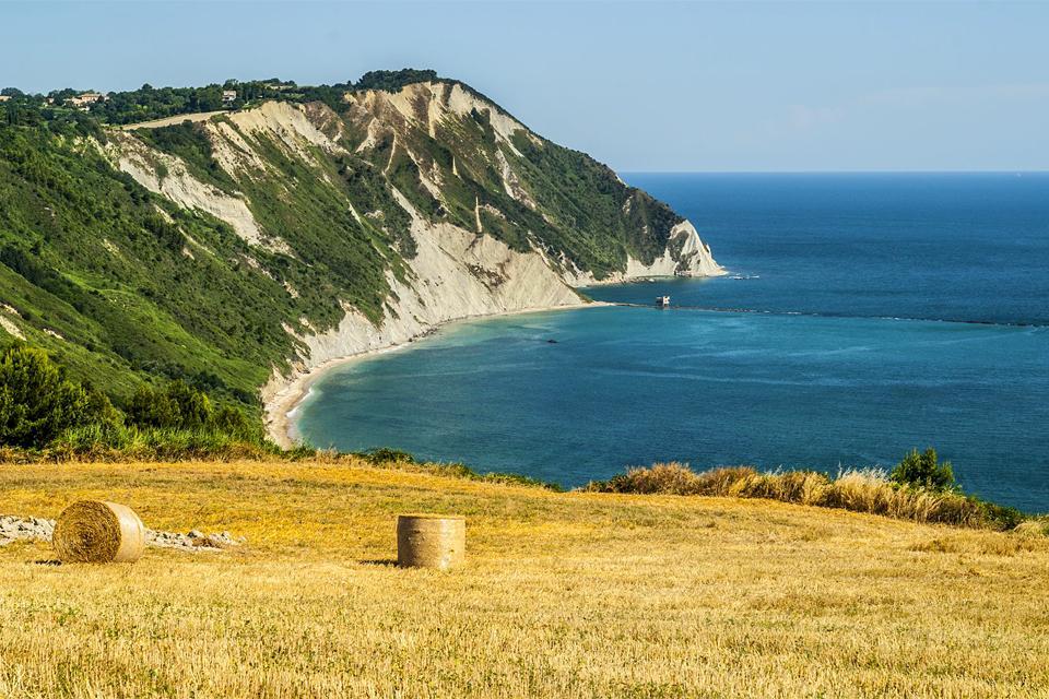 The Coast of Conero , The Conero coast , Italy
