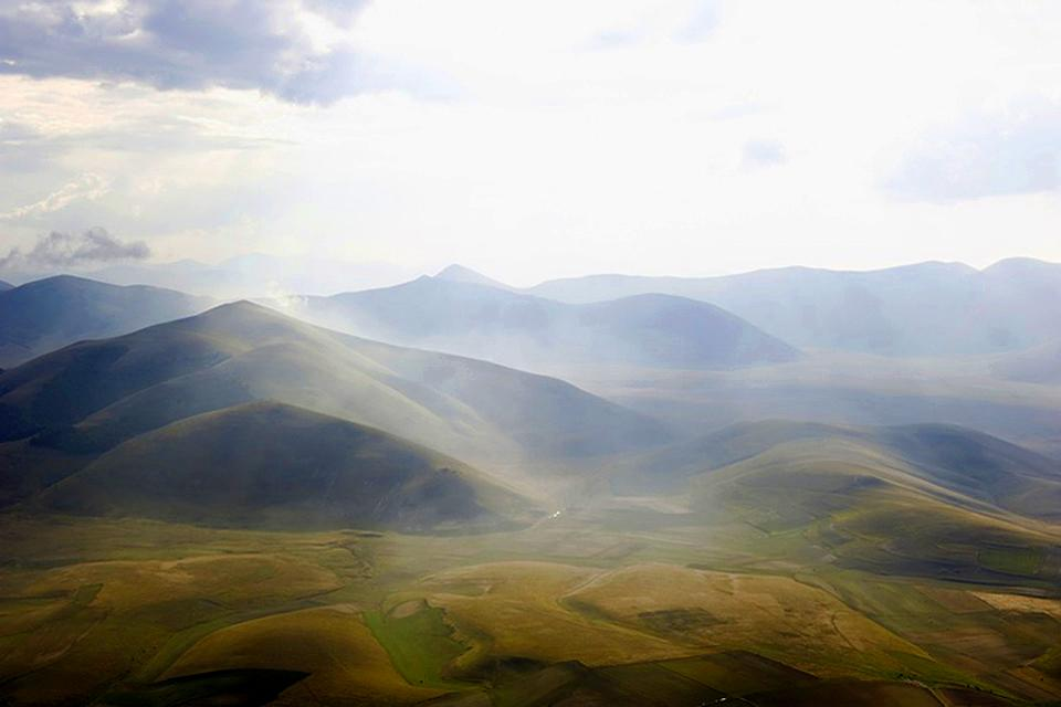 The National Park of the Sibylline Mountains , Monti Sibillini National Park , Italy