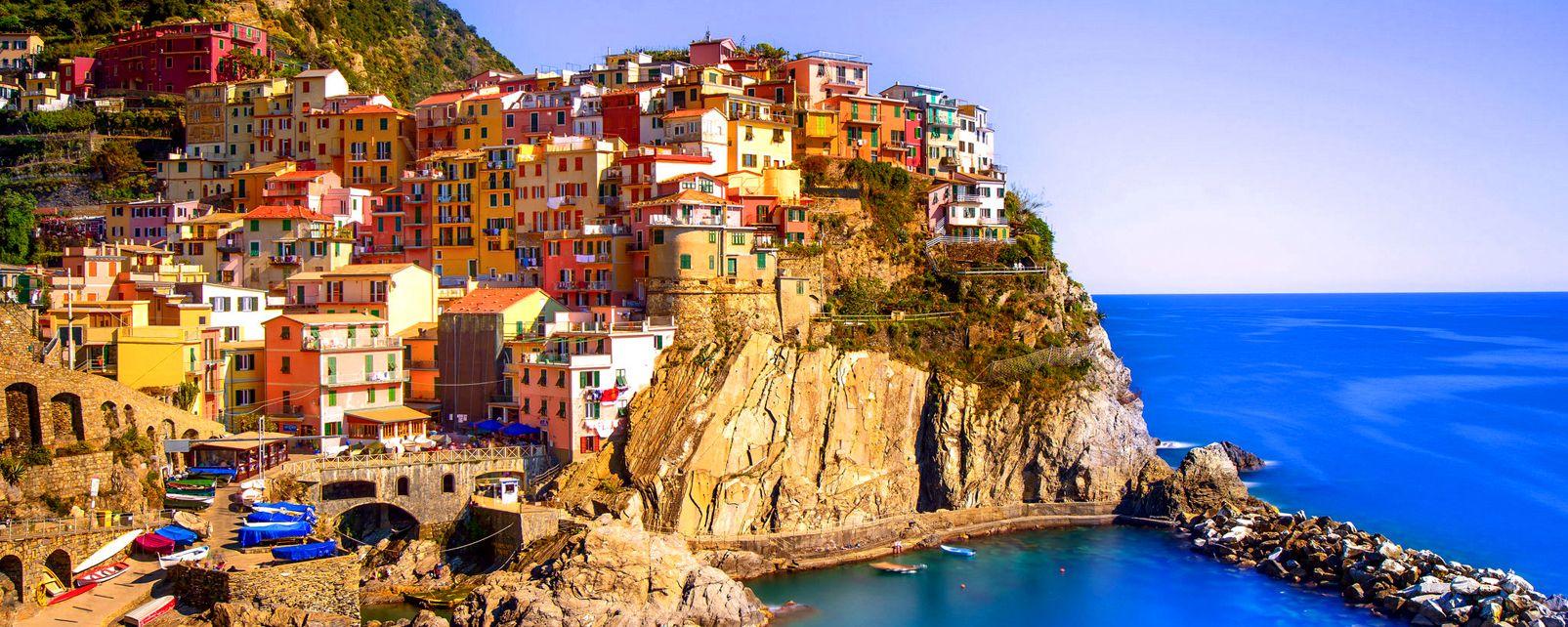 Golfo del Paraiso , Las «Cinque Terre» , Italia