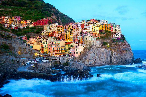 Le Cinque Terre , Vernazza, Liguria , Italia