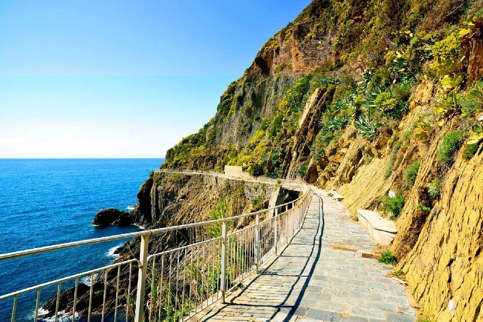 Les 'Cinque Terre' , Randonnée dans les Cinque Terre , Italie