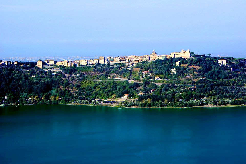 Roman Castles , The lakes of Albano and Nemi , Italy