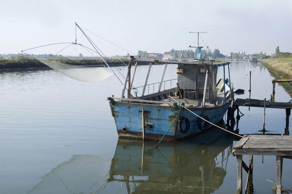 Il delta del Po , Le sue barche da pesca , Italia