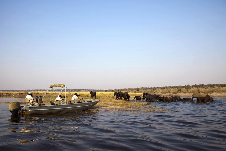 Le Chobe National Park , L'ancienneté du parc , Botswana