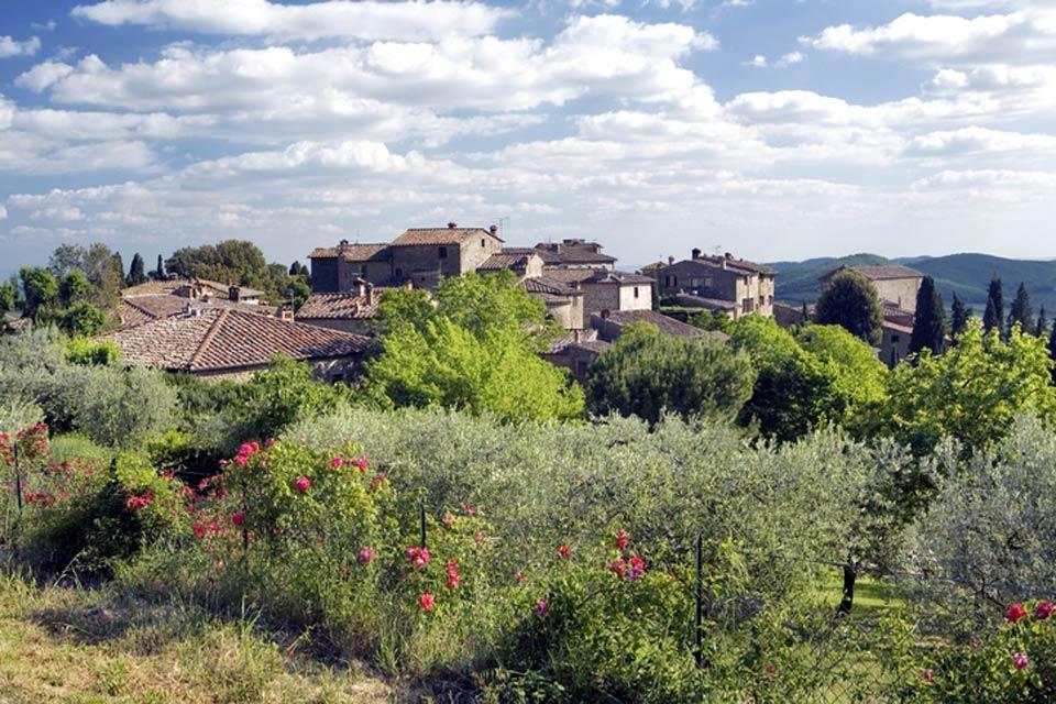 Le Chianti , Les bourgs du Chianti , Italie