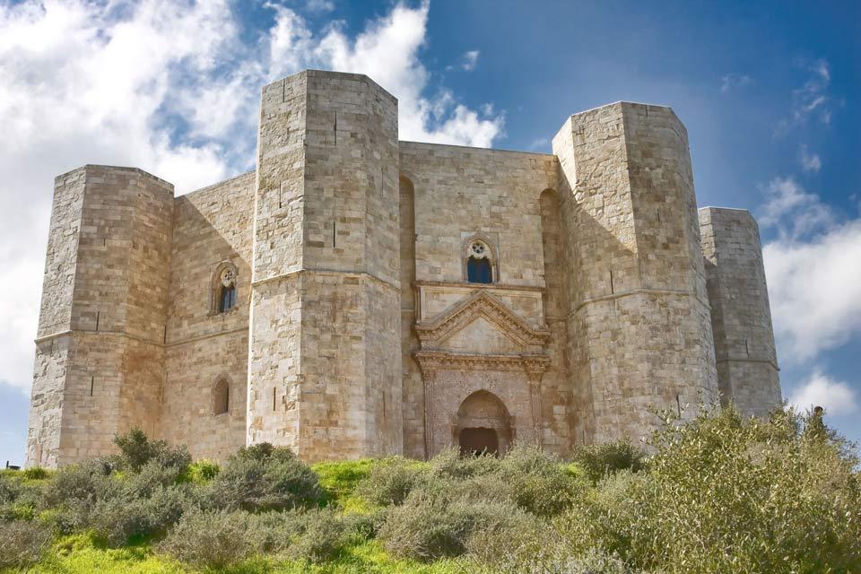 Das Castel del Monte , Castel del Monte , Italien