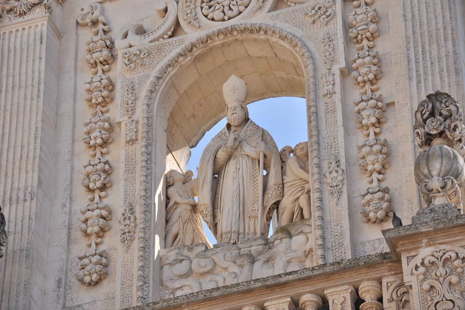 Die Kathedrale von Lecce , Italien