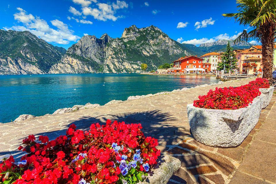 Le lac de Garde , Lac de Garde , Italie