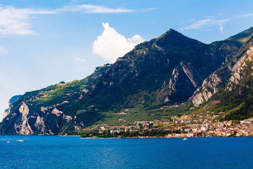 Lake Garda , The lake by boat , Italy