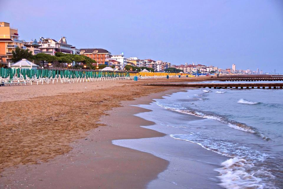 Jesolo , Les plages de Jesolo , Italie
