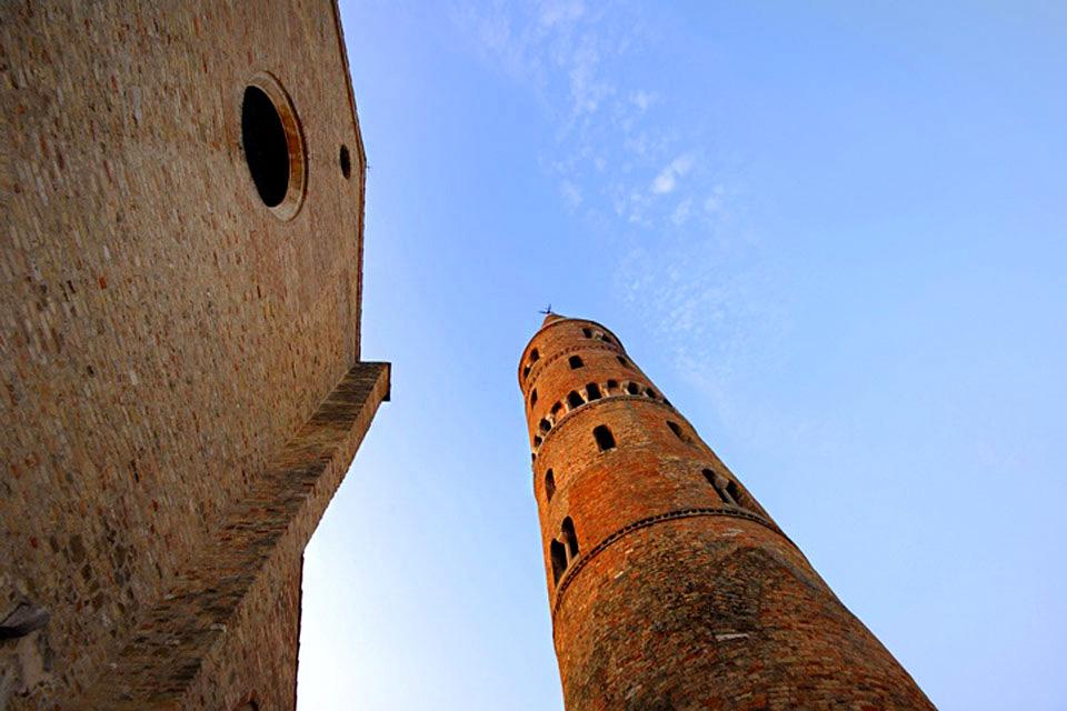 Caorle , The bell tower of Caorle , Italy