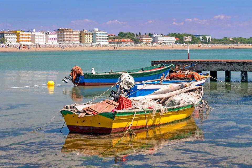 Caorle , Fischfang, Caorle , Italien