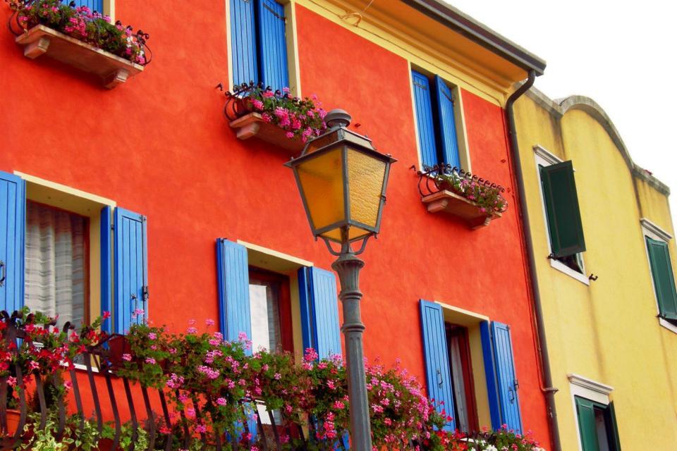 Caorle , Das historische Stadtzentrum von Caorle , Italien