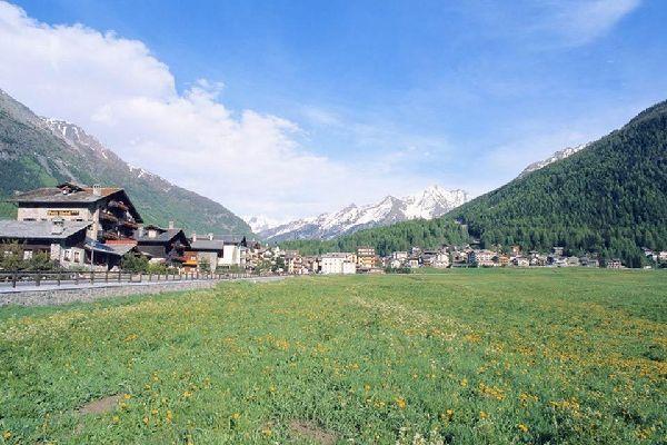 Les montagnes , Les sommets de la Vallée d'Aoste , Italie