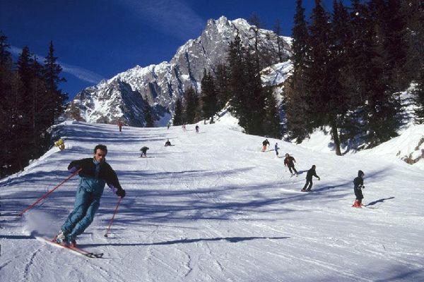 Les montagnes , Les stations de ski , Italie