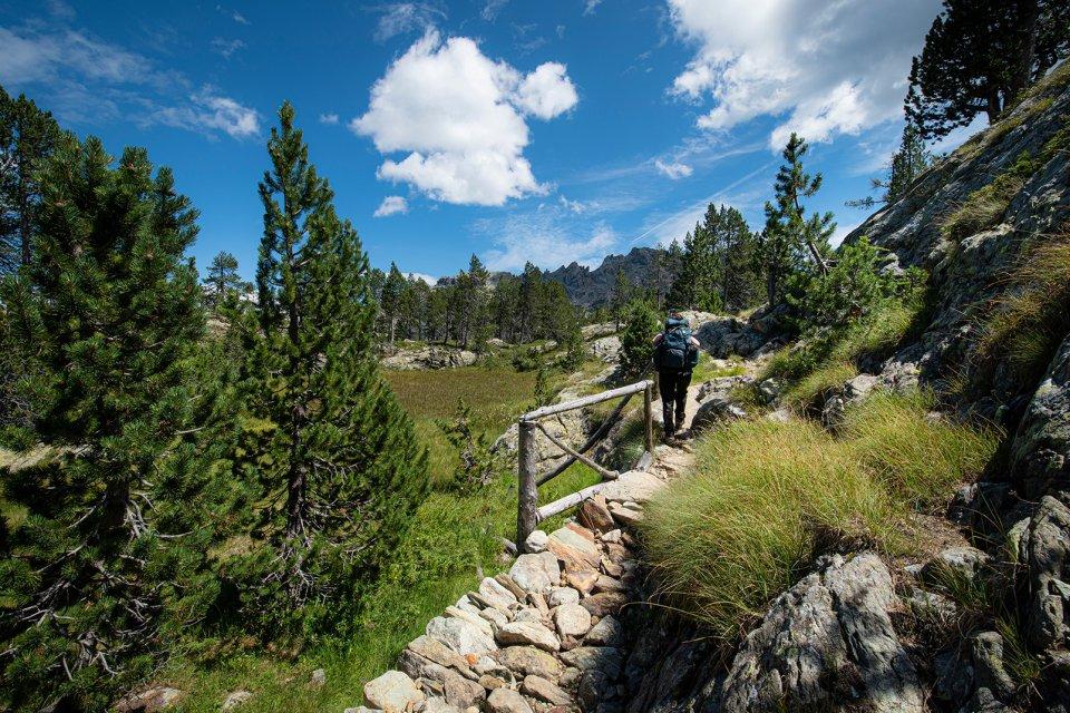 Los senderos , Italia