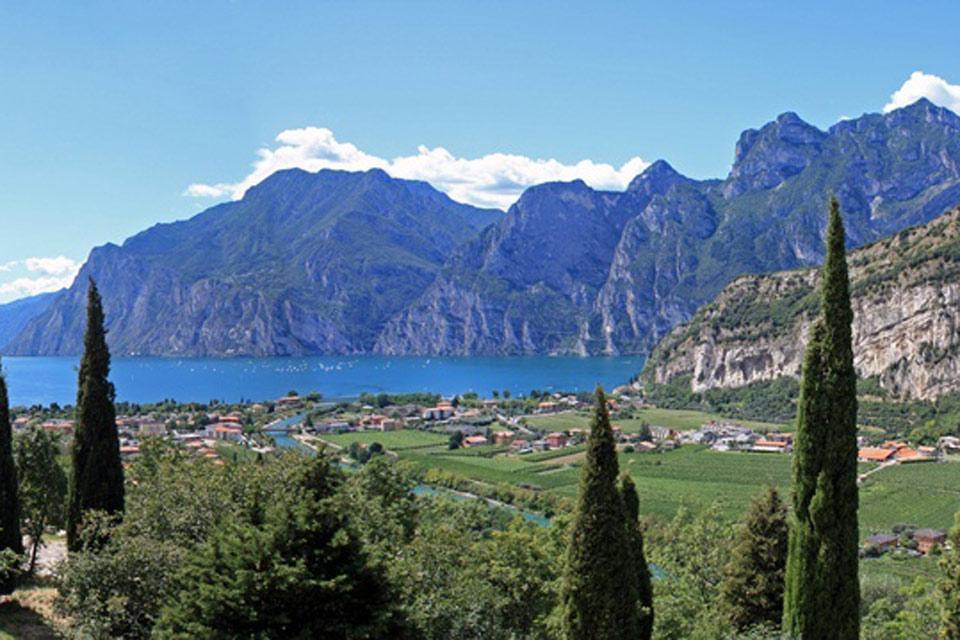 Garda Trentino , El lago de Garda, Trentino , Italia