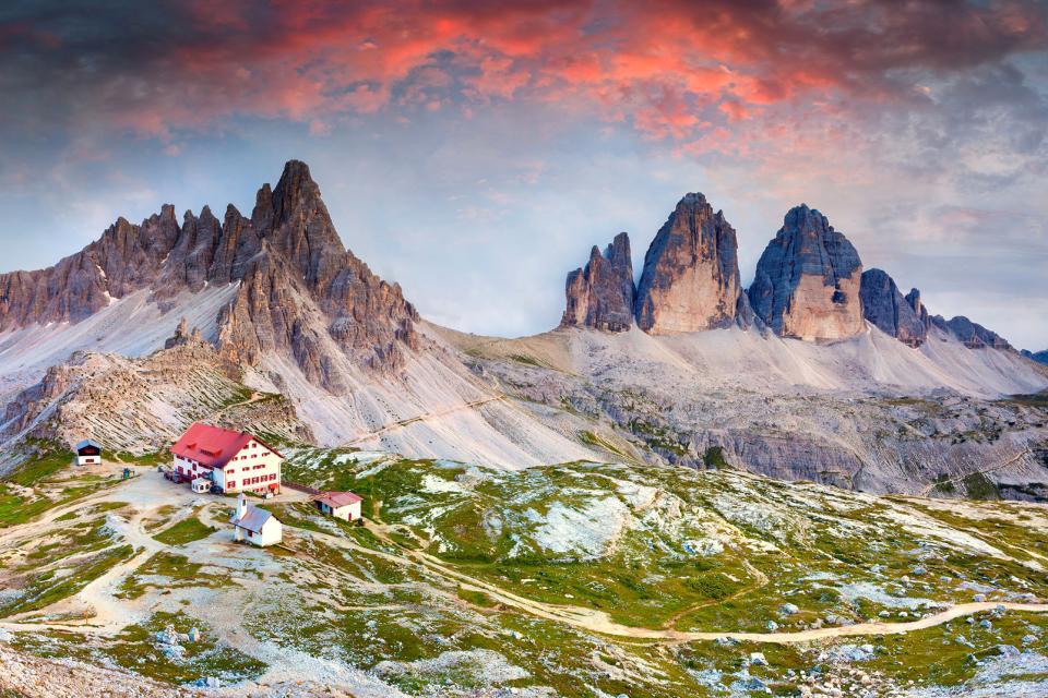 Les Dolomites , Les Dolomites, Trentin , Italie