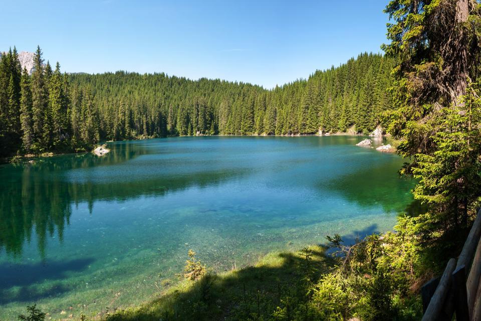 Les Dolomites , Les lacs des Dolomites , Italie