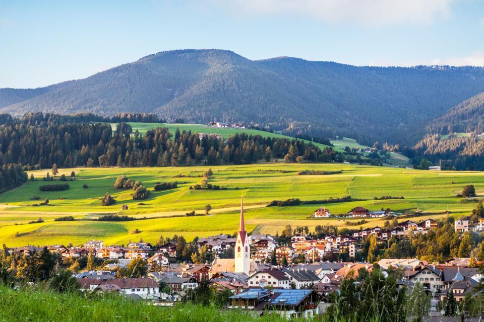 Les Dolomites , Les vallées des Dolomites , Italie