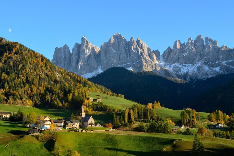 Les Dolomites , Les sports aériens , Italie