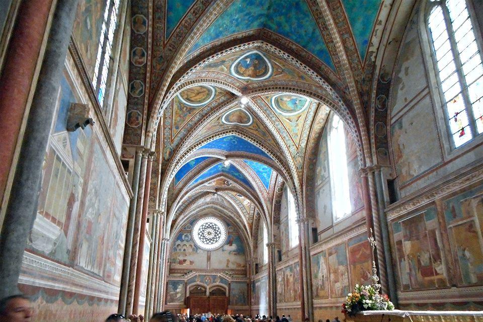 Italie, Basilique, Christianisme, Religion, Province, de, Pérouse, Assise, Saint-François, Ombrie, saint, giotto, fresque.