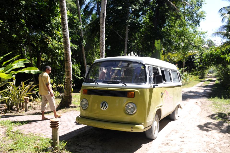 Morro de Sao Paulo , Minibús , Brasil