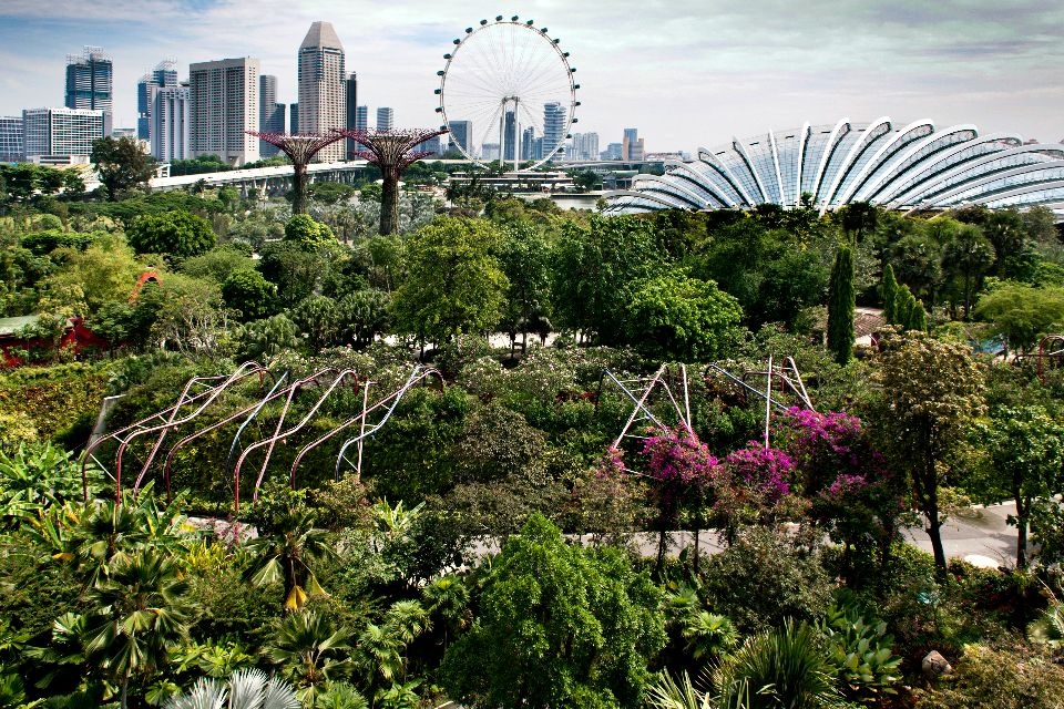 Singapore Flyer , Singapour