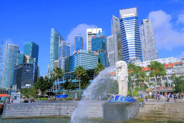 A small cruise down Singapore's river. , Singapore