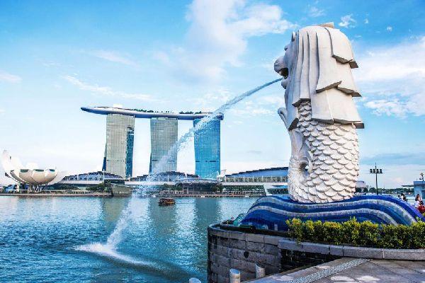 Una mini crociera sulla Singapore river , Singapore