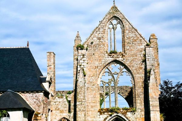 Beauport Maritime Abbey , Beauport Maritime Abbey, Brittany , France