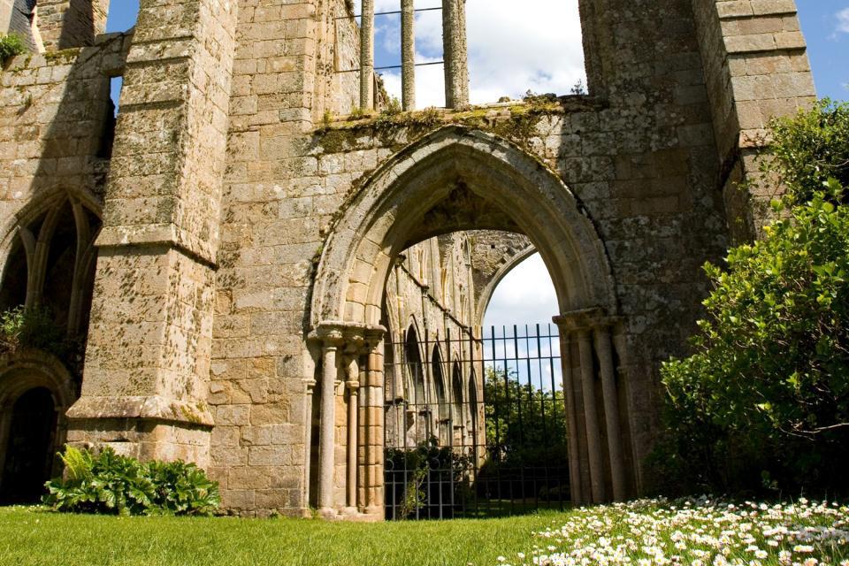 Abadía Marítima de Beauport , Vestigios de la abadía de Beauport , Francia
