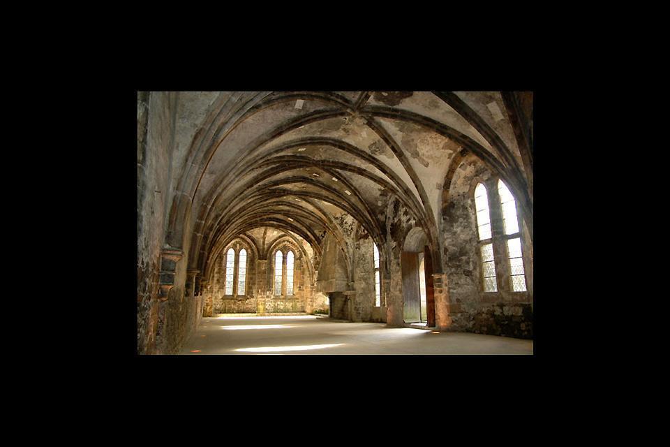 Abadía Marítima de Beauport , Las bóvedas de la abadía de Beauport , Francia