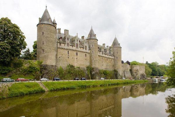 Le château de Josselin , France