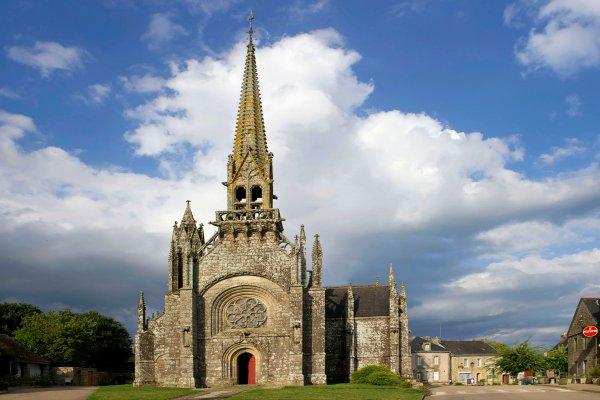 L'église de Kernascléden , France
