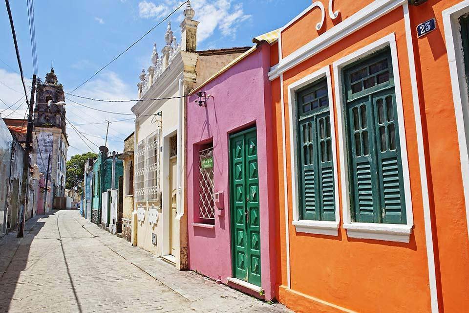 La baie de tous les Saints , Salvador de Bahia , Brésil