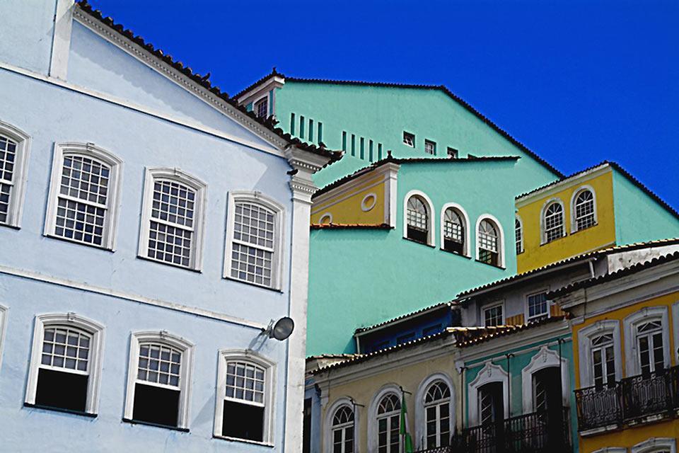 La baie de tous les Saints , Le pelourinho , Brésil