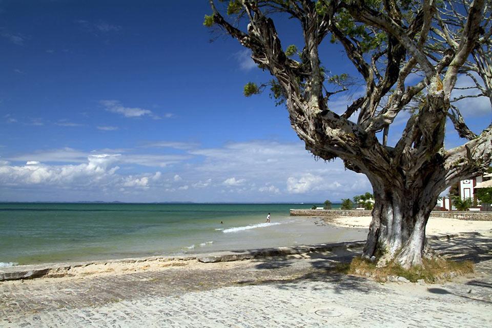 Baía de Todos os Santos , Ilha dos Frades , Brasilien