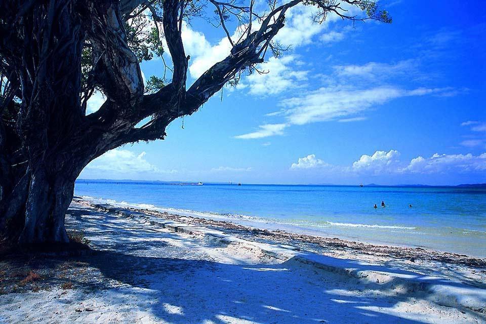 La baie de tous les Saints , Itaparica , Brésil