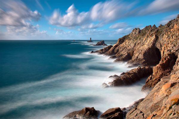 Pointe du Raz, The Arree Mounts, Landscapes, Brittany