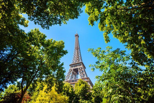 La Tour Eiffel , Vue de la Tour Eiffel , France