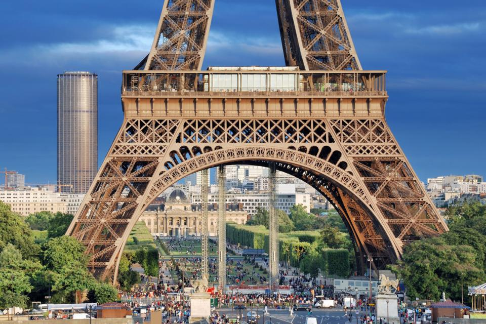 The Eiffel Tower , The symbol of the City of Light , France